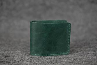 Кошелек Компакт Винтажная кожа цвет Зеленый