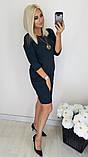 Женское нарядное платье,ткань  креп дайвинг+макраме,размеры:48,50,52,54,56., фото 9