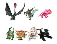 Набор фигурок Dragons Как приручить дракона (7штук)