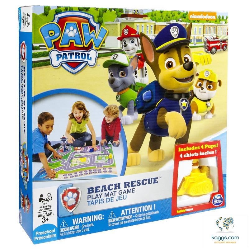 Настольная игра «Щенячий патруль:  спасательная операция на пляже» SM34232 Spin Master
