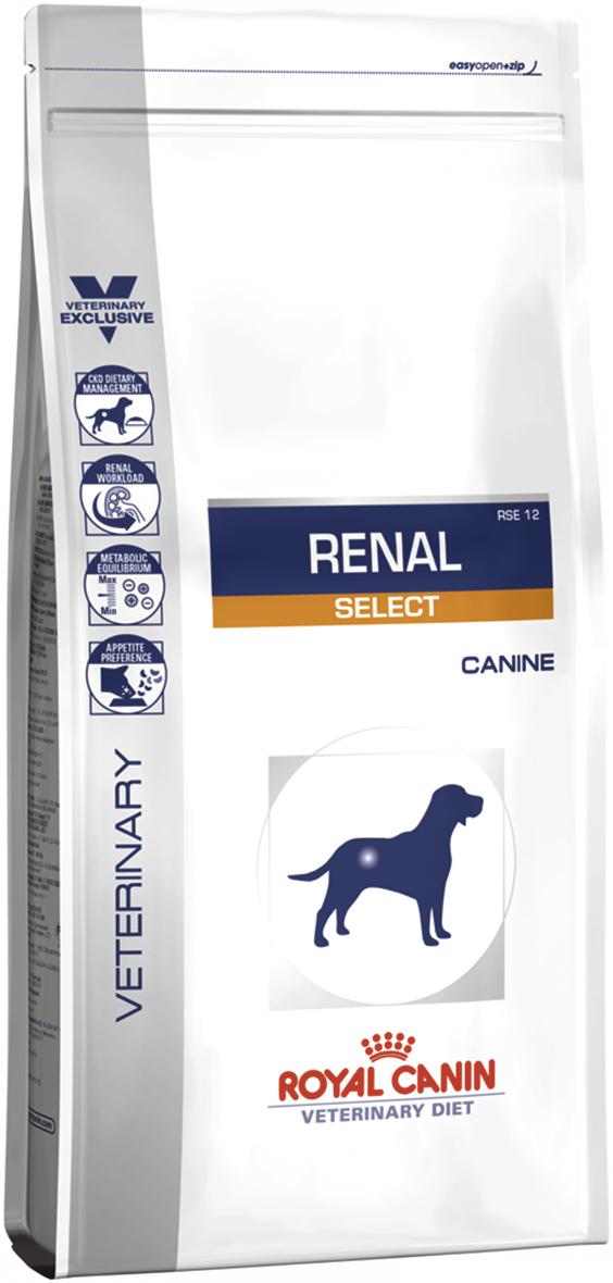 Лечебный корм для собак с почечной недостаточностью Royal Canin RENAL SELECT CANINE 10 кг