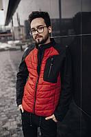 Куртка    водоотталкивающая красная мужская