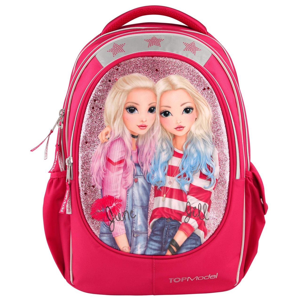 Top-Model Depesche Шкільний рюкзак Top Model Friends червоний ( Школьный портфель Топ Модел)