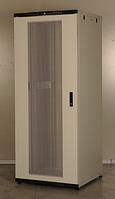 Шкаф серверный напольный 42U 19'' 800х800 разборной, перф. перед и задняя дверь