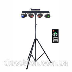 SET PAR+UV STROBE+BALL+LASER