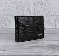 Визитница, кредитница кожаная Desisan 114-143 черная на 20 карт с отделом для купюр, фото 1