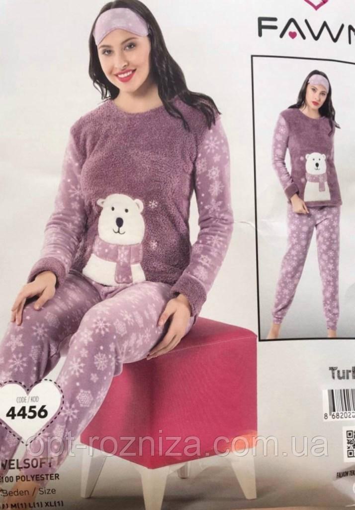 Зимние пижамы из флиса и махры