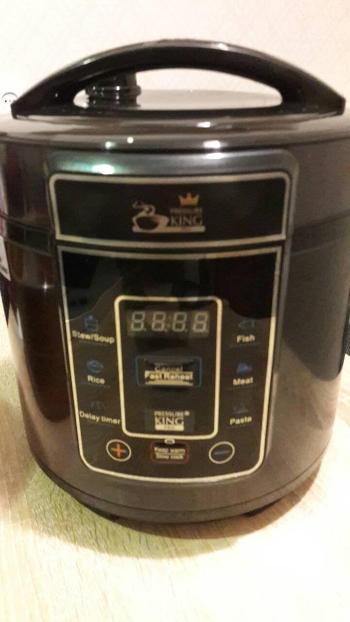 Электрическая скороварка Pressure King Pro by Drew & Cole  3 литра, 8-в-1, мультиварка, рисоварка (700 Вт)