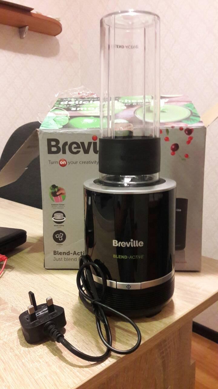 Блендер Breville Blend-Active Pro Blender, 300 W - Black