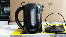 Електрочайник Bosch TWK76033GB Village Collection, 1,7 л, чорний [Клас енергоспоживання A +]