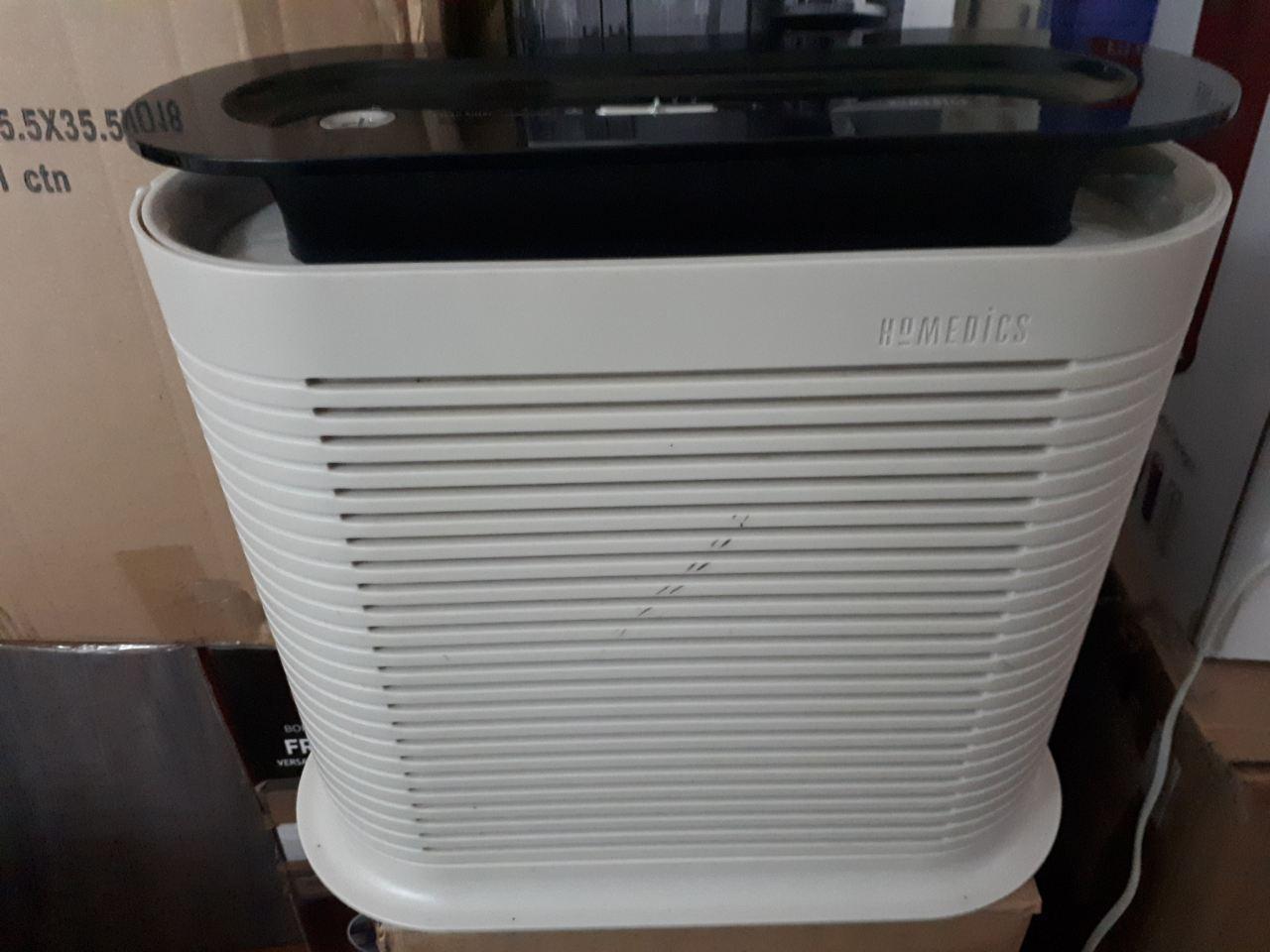 Вентилятор очиститель воздуха HoMedics HEPA, сохраняет свежесть воздуха