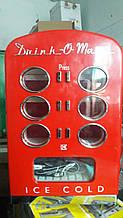 Холодильник для вендинга TKG Retro Can, 60 Вт, Красный