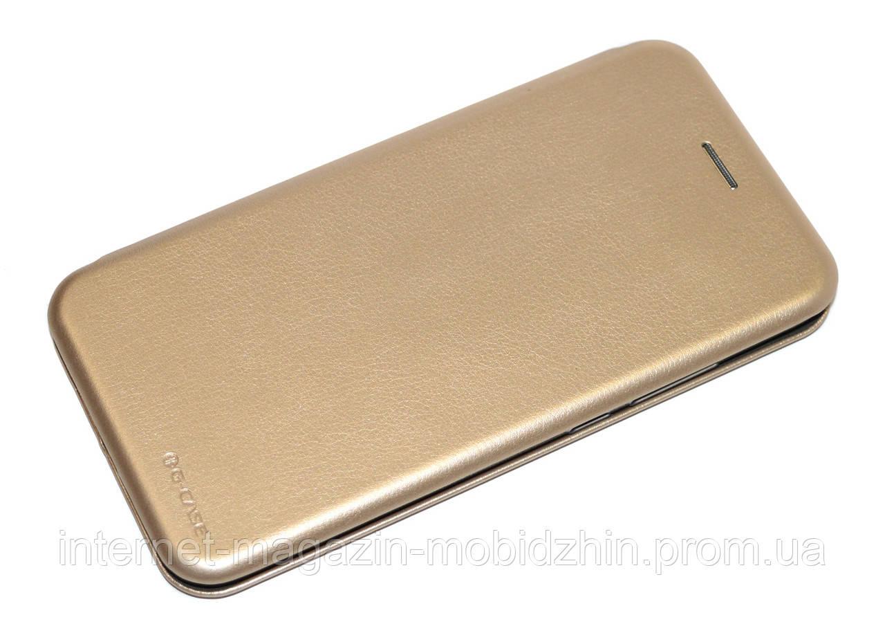 Чехол-книжка Xiaomi Redmi 7 золотая G-Case Ranger Elite