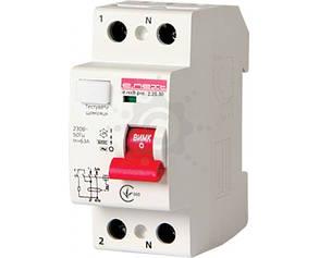 Вимикач диференціального струму E. NEXT e.rccb.pro.2.25.30, 2р, 25А, 30мА