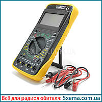 Мультиметр цифровой DT9205A с автовыключением, прозвонка, амперметр, вольтметр, фото 1