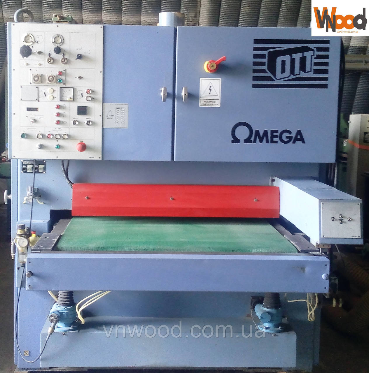 Калібрувально-шліфувальний верстат OTT OMEGA 1100