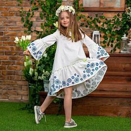 Платья детские с вышивкой