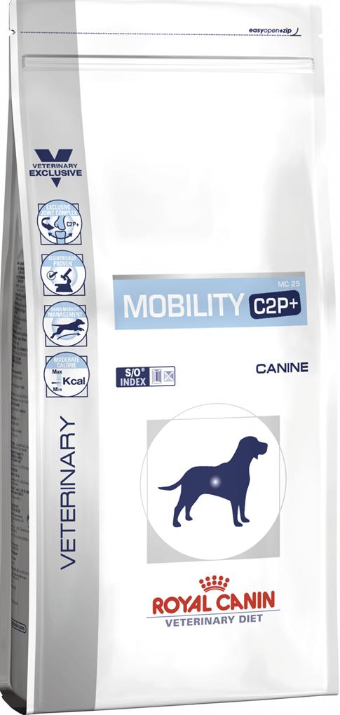 Лечебный корм для щенков при проблемах с суставами Royal Canin VD CANINE MOBILITY C2P+  14 кг