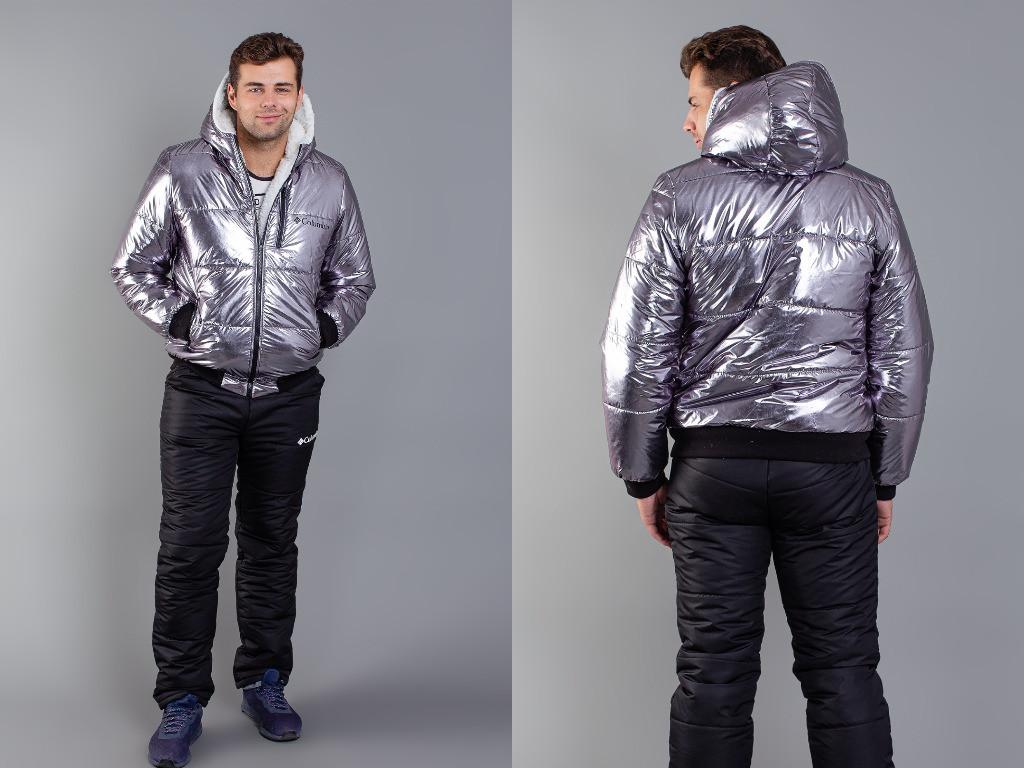 """Теплый лыжный спортивный костюм мужской """"Columbia"""" 46 48 50 52р."""