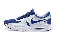 Женские кроссовки Nike Air Max 87 Zero бело-синие, фото 1