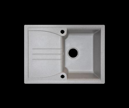 Кухонная мойка (гранит) (разные цвета, сифон в комплекте) BORGIO PRА-680×500