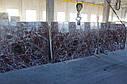 Rosso Levanto Extra, Мраморный слэб (сляб) 20мм, фото 3