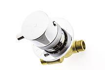 Термостатический смеситель для встройки или скрытого монтажа, фото 3