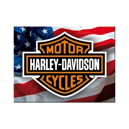 Магнит Nostalgic-Art Harley-Davidson USA Logo (14226)