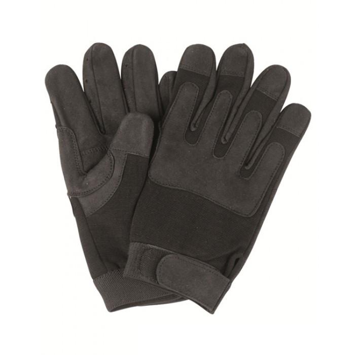 Перчатки, искусственная кожа/эластан MilTec Black 12521002 M