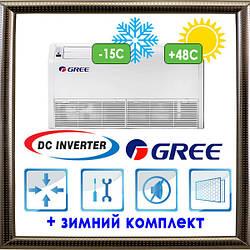 Напольно-потолочные блоки U-Match с инвертором GUHD24NK3FO/GTH24K3FI кондиционеры GREE