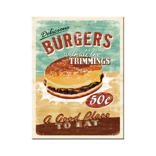 Магніт Ностальгічне-Art Burgers (14230)