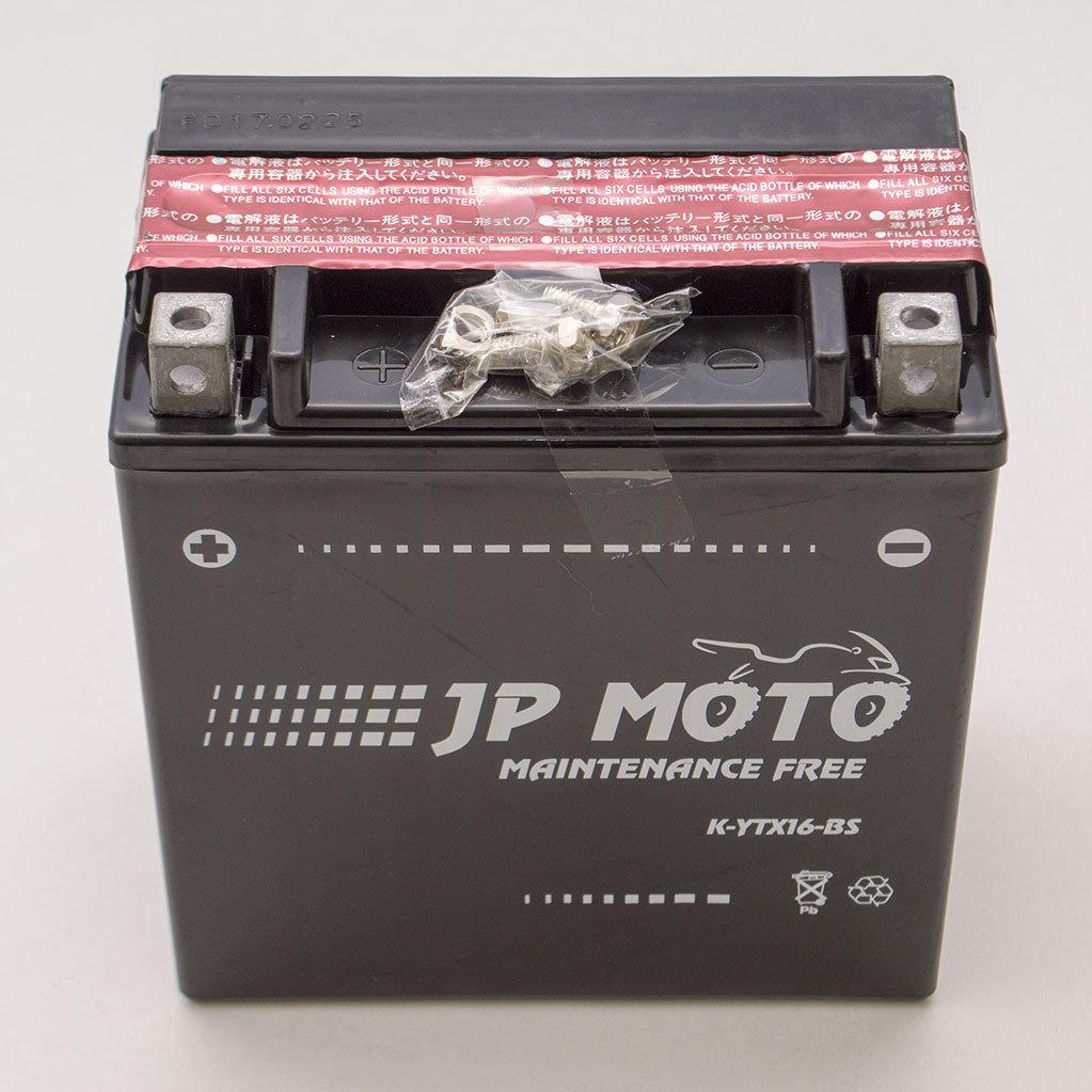 АКУМУЛЯТОР 14AH-12V YTX16-BS JP MOTO