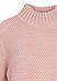 Свитер Zaps Theona розового цвета, крупной вязки, фото 2