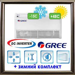 Напольно-потолочные блоки U-Match с инвертором GUHD36NK3FO/GTH36K3FI кондиционеры GREE