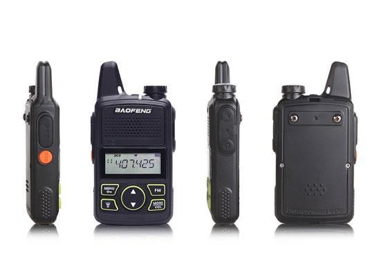 Портативная радиостанция Baofeng BF T1 Mini комплект 2 шт.