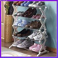 Полка для обуви Shoe Rack 5 tier на 15 пар