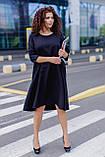 Женское платье свободного кроя Костюмка Размер 48 50 52 54 56 58 60 62 В наличии 3 цвета, фото 3