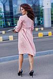 Женское платье свободного кроя Костюмка Размер 48 50 52 54 56 58 60 62 В наличии 3 цвета, фото 4