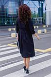 Женское платье свободного кроя Костюмка Размер 48 50 52 54 56 58 60 62 В наличии 3 цвета, фото 5
