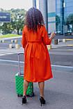 Женское платье свободного кроя Костюмка Размер 48 50 52 54 56 58 60 62 В наличии 3 цвета, фото 6