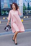 Женское платье свободного кроя Костюмка Размер 48 50 52 54 56 58 60 62 В наличии 3 цвета, фото 7
