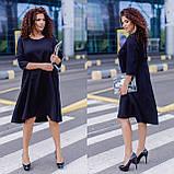 Женское платье свободного кроя Костюмка Размер 48 50 52 54 56 58 60 62 В наличии 3 цвета, фото 9