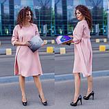 Женское платье свободного кроя Костюмка Размер 48 50 52 54 56 58 60 62 В наличии 3 цвета, фото 10