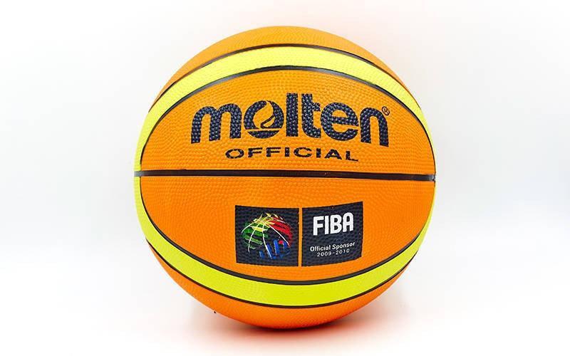 Мяч баскетбольный резиновый Molten BA-1841