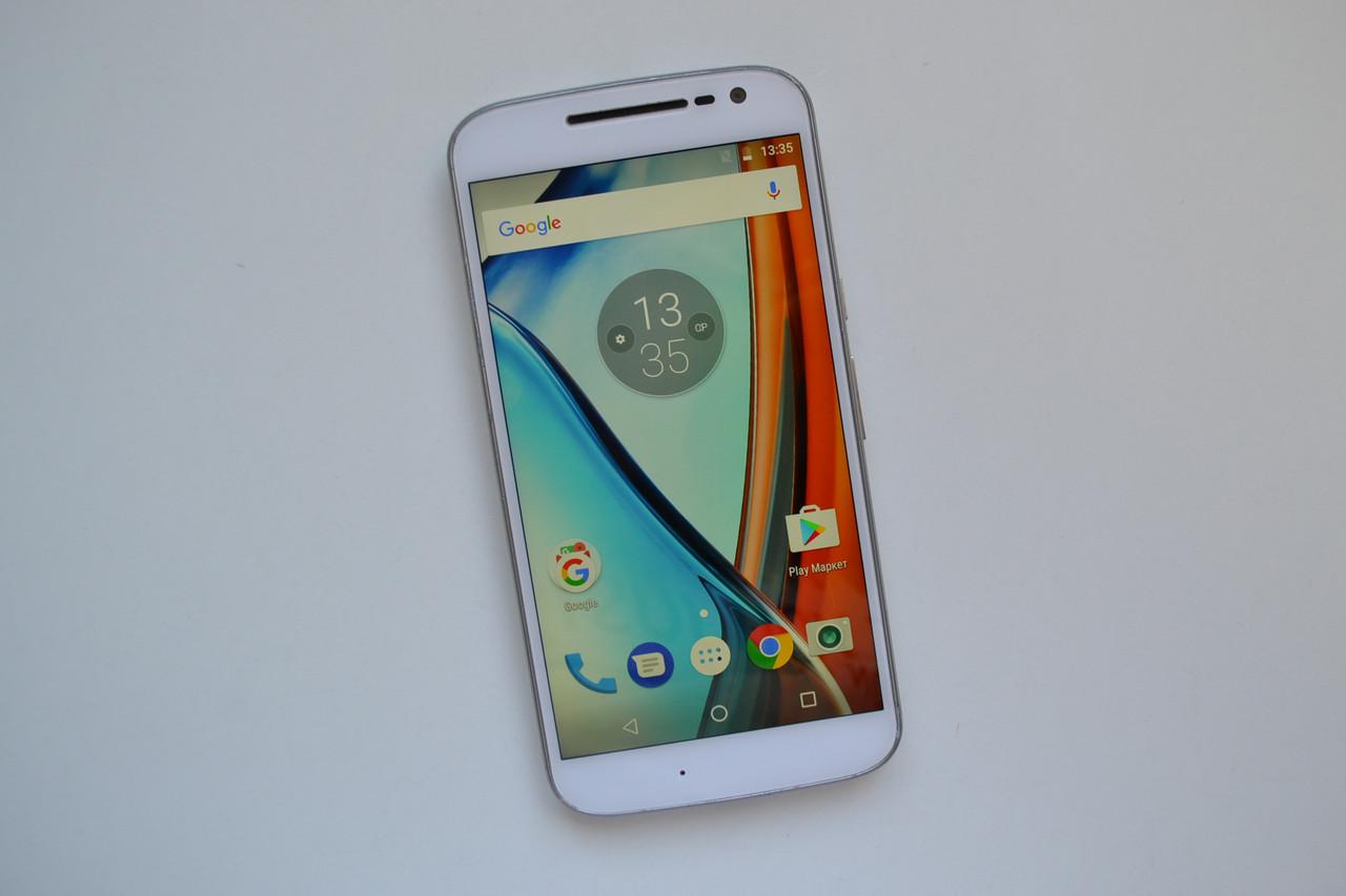 Motorola Moto G4 (4rd gen) XT1625 32Gb White Оригинал!