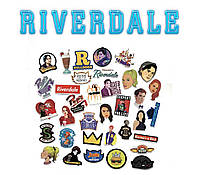 Набор виниловых наклеек Ривердейл / Riverdale 25 шт.