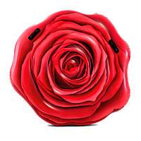 Матрас 58783 (6шт) Красная роза, 137-132см, ремкомплект, в кор-ке,