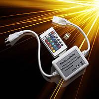Контроллер RGB 220V 600W-IR-24