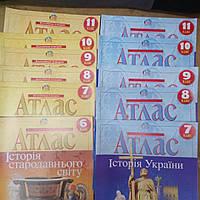 Атлас школьный издательство Картографии.