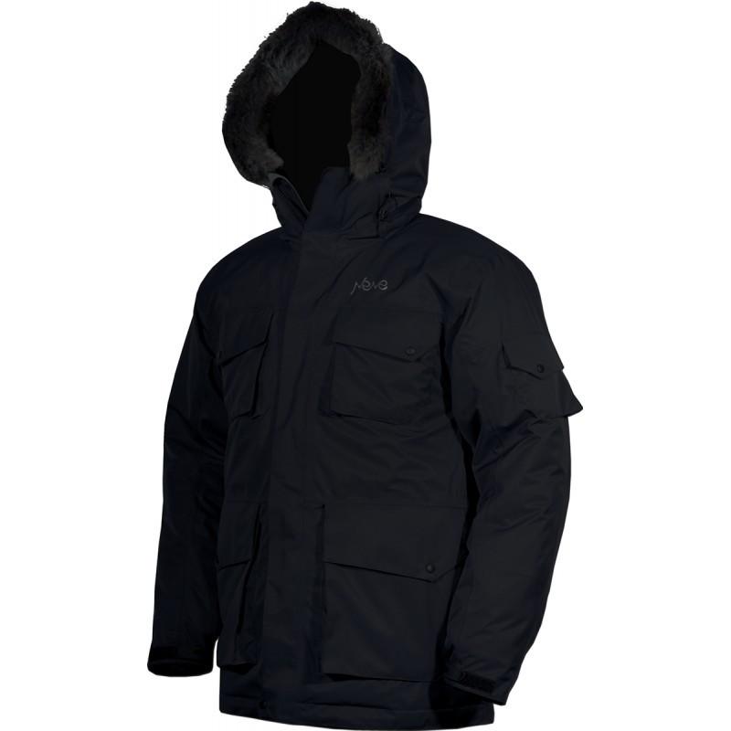 Зимняя мембранная городская куртка Neve Tempest графит